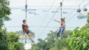 s: MegaZip | Cruisy Treetop Zipline to the Sea: photo #4